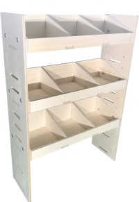 Van Plywood Shelving and Van Plywood Racking Storage System 1087mm x 750mm x 269mm - BVR1075263
